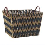 Scott Living Chevron Seagrass Basket