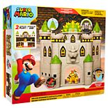 Super Mario Bros Deluxe Bowser Castle Playset