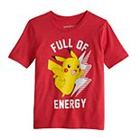 Boys 4-7 Jumping Beans® Pokemon Pikachu Graphic Tee