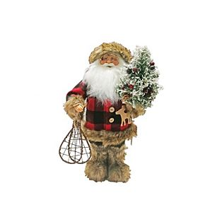 Buffalo Plaid Santa