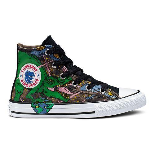 Boys' Converse Chuck Taylor All Star Interstellar Dinosaur High Top Shoes