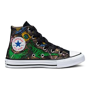 Boys' Converse Chuck Taylor All Star Interstellar Dinosaur High Top Shoes