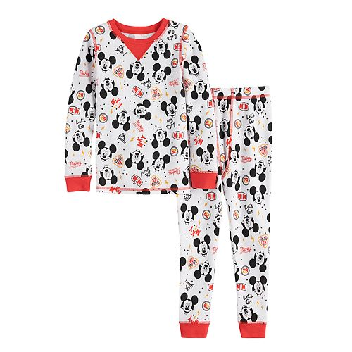Disney's Mickey Mouse Toddler Boy Cuddl Duds® Thermal 2-Piece Set