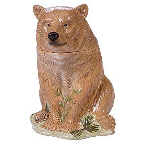 Certified International Mountain Retreat Bear Cookie Jar