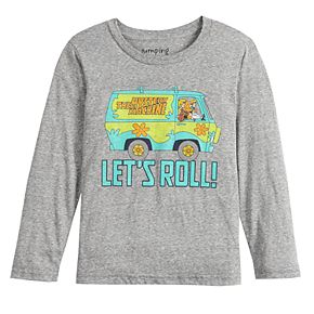 Boys 4-12 Jumping Beans® Long-Sleeve Scooby Doo and Shaggy Tee
