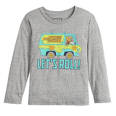 Boys 4-12 Jumping Beans® Long-Sleeve Scooby Doo Tee