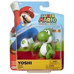 "Nintendo 4"" Figures Green Yoshi with Egg"