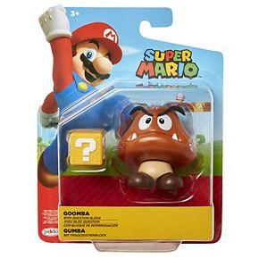 "Nintendo 4"" Figures Goomba with Question Block"