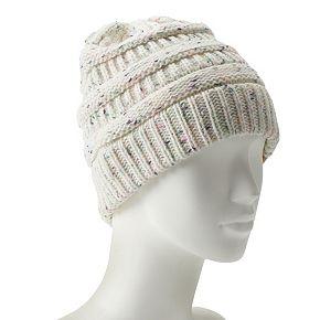 Women's SO® Nep Yarn Slinky Beanie