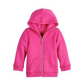 Baby Girl Jumping Beans® Fleece Zip Hoodie