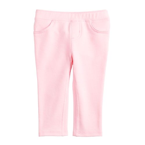 Baby Girl Jumping Beans® French Terry Pants