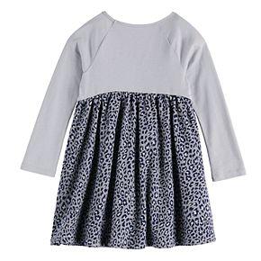 Toddler Girl Jumping Beans® Long Sleeve Babydoll Dress