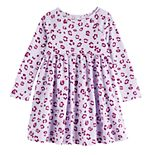 Toddler Girl Jumping Beans® Long Sleeve Babydoll Dress