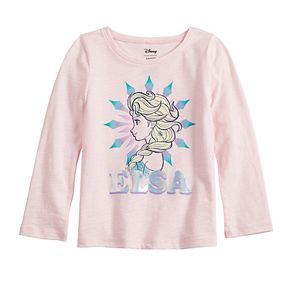 Disney's Frozen Elsa Toddler Girl Sequin Graphic Tee by Jumping Beans®