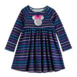 Disney's Minnie Mouse Toddler Girl Striped Dress by Jumping Beans®
