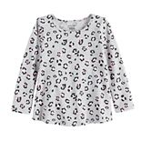 Toddler Girl Jumping Beans® Long Sleeve Swing Top
