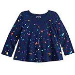 Toddler Girl Jumping Beans® Long Sleeve Swing Top