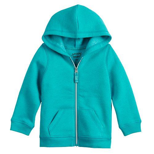 Toddler Girl Jumping Beans® Fleece Zip Hoodie