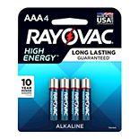 Rayovac High Energy AAA Batteires (4-Pack)