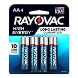 Rayovac High Energy AA Batteries (4-Pack)