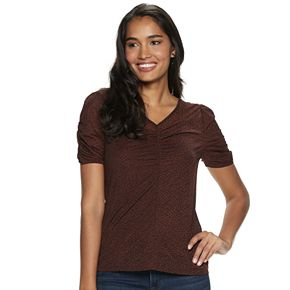 Women's Apt. 9® Ruched Front Top