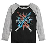 Boys 4-12 Jumping Beans® Star Wars Lightsabers Raglan Tee