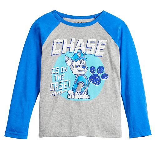 Boys 4-12 Jumping Beans® Long-Sleeve Chase on the Case Tee