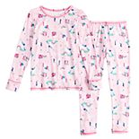 Toddler Girl Cuddl Duds 2-Piece Poly Base Set