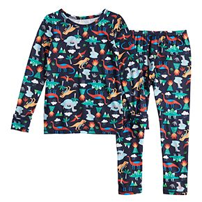 Toddler Boy Cuddl Duds 2-Piece Poly Base Layer Set