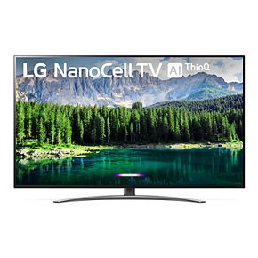 LG 55-Inch 4K HDR Smart LED NanoCell TV with AI ThinQ (55SM8600PUA)