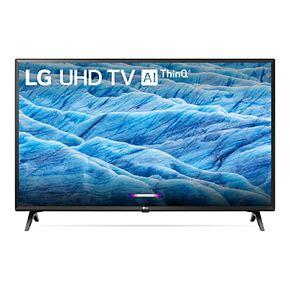LG 49-Inch 4K HDR Smart LED TV with AI ThinQ (49UM7300PUA)