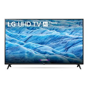 LG 43-Inch 4K HDR Smart LED TV with AI ThinQ (43UM7300PUA)