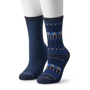Women's Columbia Fairisle 2pk. Crew Socks