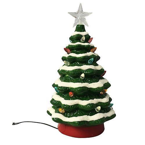 St. Nicholas Square® Ceramic Led Christmas Tree Decor by St. Nicholas Square