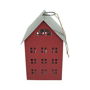St. Nicholas Square® Red Metal House