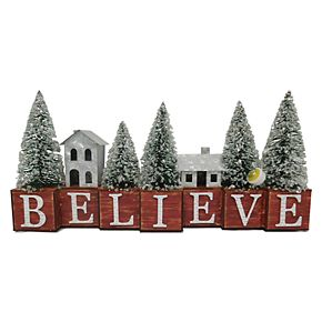 St. Nicholas Square® Believe LED Figurine