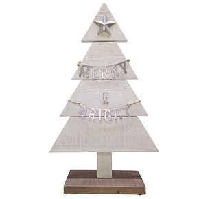 St. Nicholas Square® Merry & Bright Christmas Tree Figurine