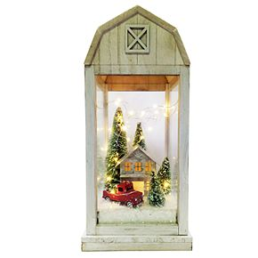 St. Nicholas Square® Barnhouse Lantern Figurine