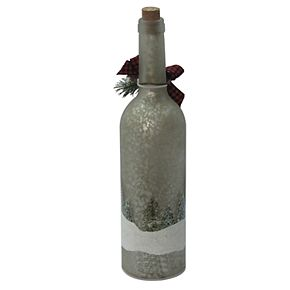 """St. Nicholas Square® LED """"Happy Holiday"""" Wine Bottle"""