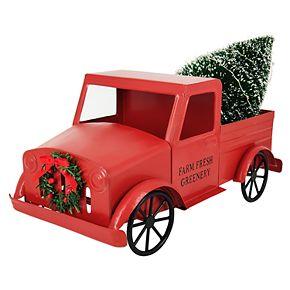 St. Nicholas Square® Red Truck Figurine