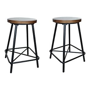 Illona 24 In. Stool Set of 2