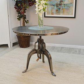 Mundra Adjustable Crank Antique Dining Table