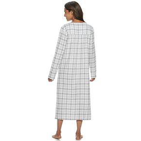 Women's Croft & Barrow® Printed Woven Nightgown
