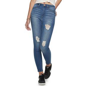 Juniors' Love, Fire High-Rise Skinny Jeans