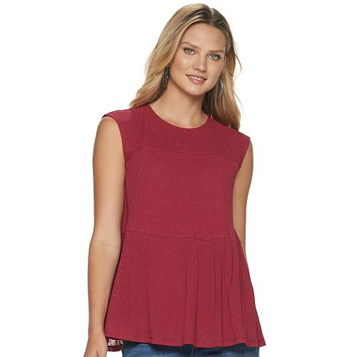 Women's Juicy Couture Tiered Tank Top