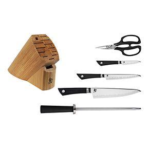 Shun Sora 6-pc. Basic Knife Block Set