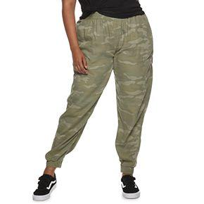Juniors' Plus Size SO® Utility Cargo Pants