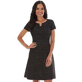 Women's Apt. 9 Dress Princess Fit-N-Flare Dress