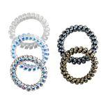 Women's SO® 5-Piece Animal Print G Coil Hair Tie