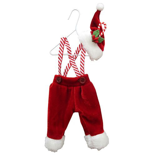 St. Nicholas Square® Fabric Santa Pants Ornament by St. Nicholas Square